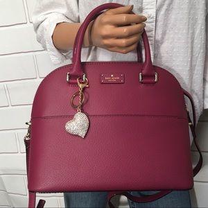 NWT Kate Spade Berry Domed handbag